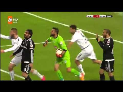 Beşiktaş - Torku Konyaspor Maç özeti  ( 1-2 ) 10 şubat 2016