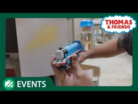 Behind the Scenes at Thomas Land: The Engine Builders ...