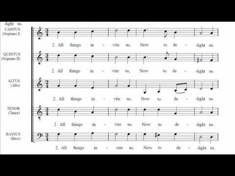 Sing we and chant it - Morley