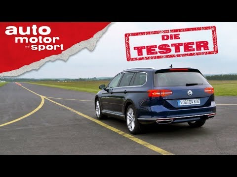 VW Passat Variant GTE: Mit Strom-Power statt Diesel - Die Tester | auto motor und sport