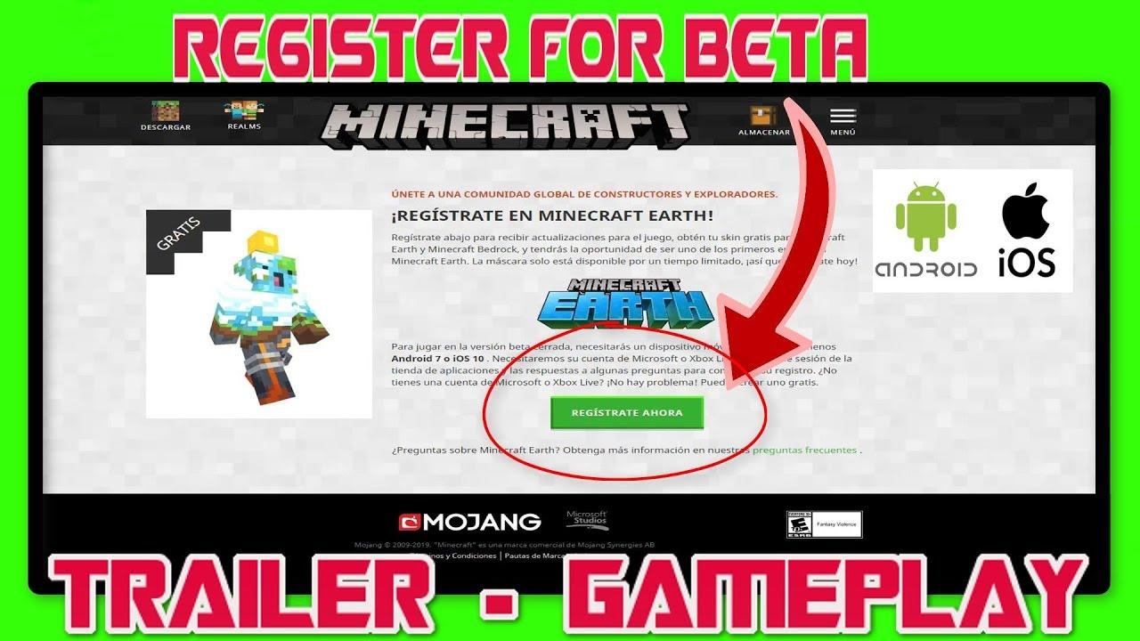 minecraft earth beta release