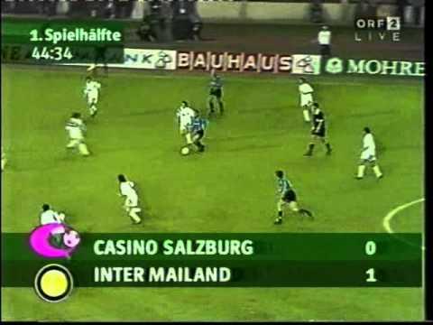 Finale di andata UEFA Cup 1993/1994 - Salzburg vs. Inter (0:1)