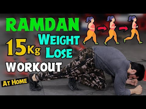 15 Kg Ramzan Chellange Weight Loss Workout Urdu/Hindi