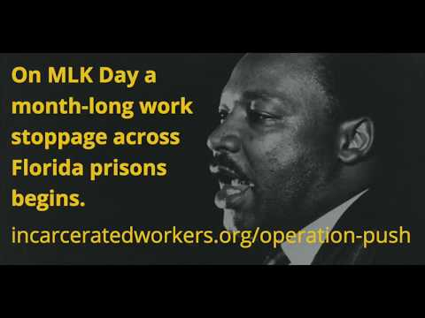 Operation PUSH - Florida Prison Strike on MLK Day
