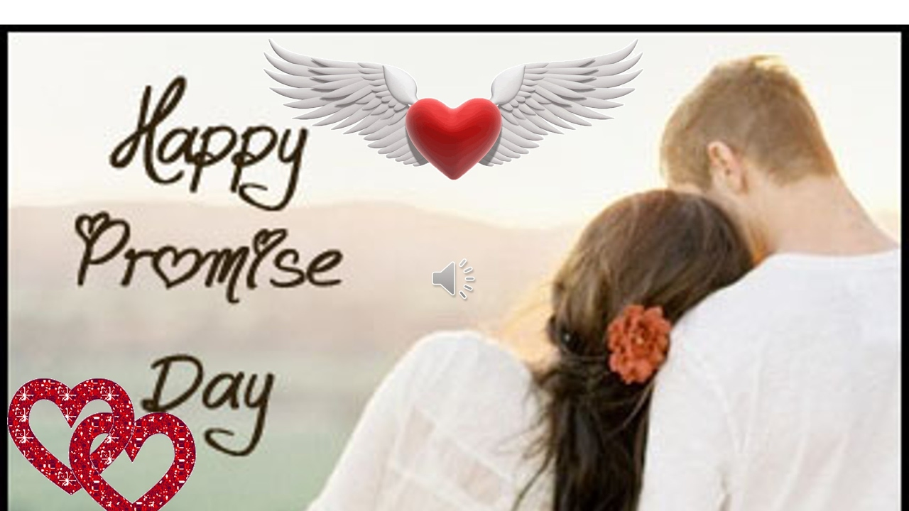 Happy promise day 2017 beautiful love messagewishesgreetings happy promise day 2017 beautiful love messagewishesgreetingswhatsapp videosmse card youtube kristyandbryce Image collections