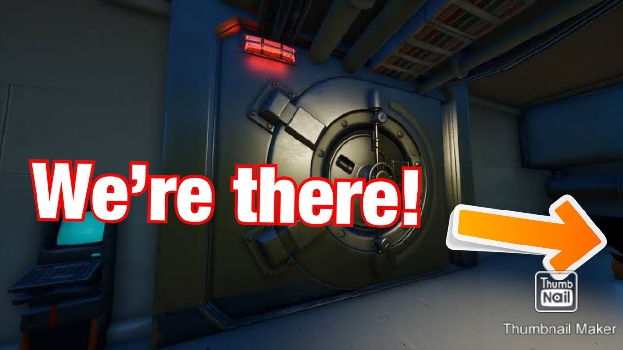 Waiting at the vault and killing kids in fortnite!