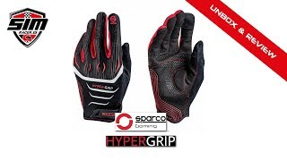 Unbox & Review Guantes Sparco Gaming Hypergrip