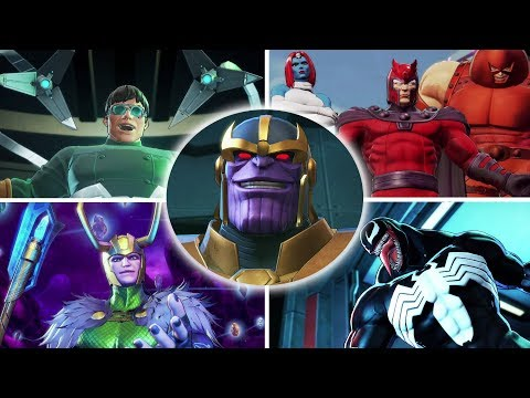 Marvel Ultimate Alliance 3 - All Bosses And Ending