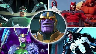 Marvel Ultimate Alliance 3   All Bosses And Ending