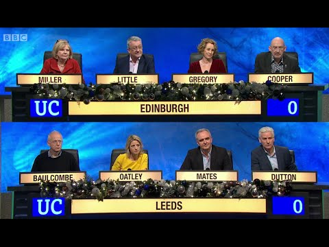 University Challenge - Christmas 2014 E04 University of Edin