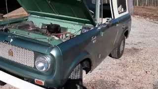 1965 International Scout Model 80 - For Sale ~ Beautiful Classic