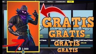 HOW TO GET THE NEW SKIN *CUERVO* FREE AT FORTNITE BATTLE ROYALE