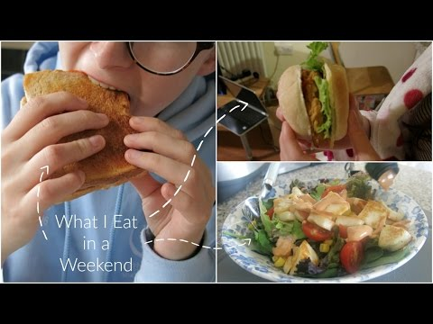 What I Eat in a Weekend (vegetarian) | ThatQuirkyGirl