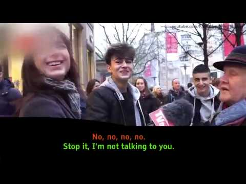 German Christian Woman vs. Muslims (English Subs)