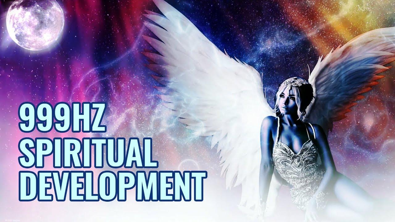 999Hz | Increase Psychic Abilities | Spiritual Development, Activate Your Higher Self Binaural Beats