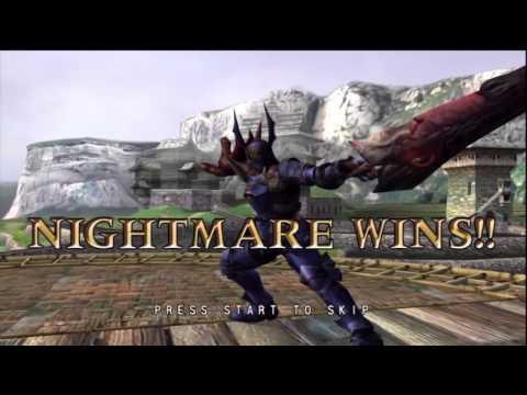 Soul Calibur II - Online -Nightmare VS Mitsurugi[HD]