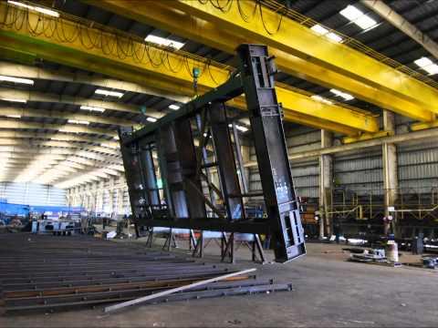Steel Fabrication - bulk material handling equipment. Hammer Haag steel fabrication - 20131204TL4