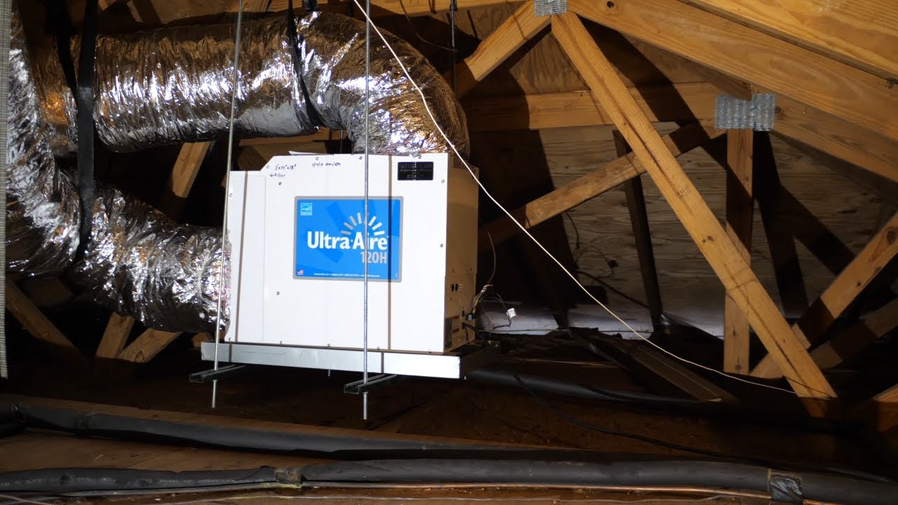 Dehumidifier Whole House Installation Ultra Aire 120h
