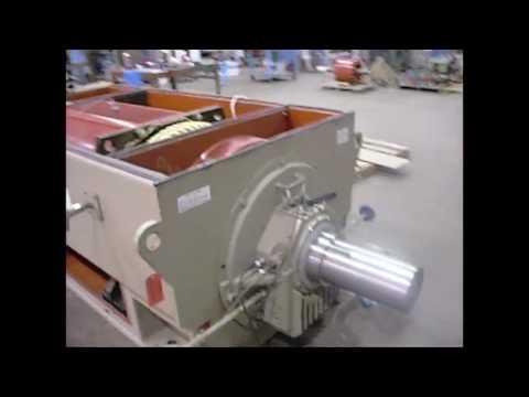 7,500 horsepower motor test