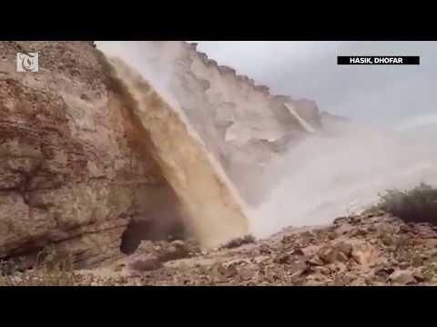 Cyclone Mekunu: Rainfall begins in Dhofar