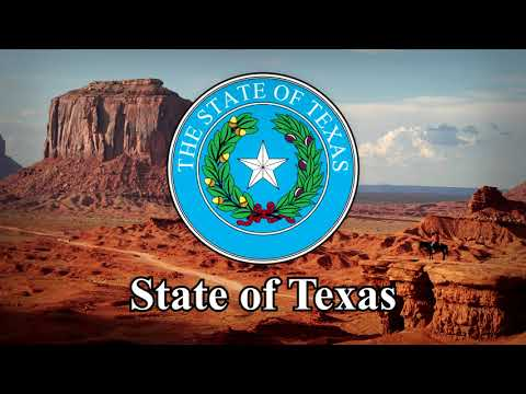 """National Anthem of State of Texas: """"Texas, our Texas"""" (Instrumental)"""