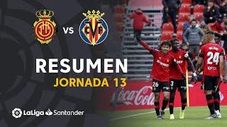 Resumen de RCD Mallorca vs Villarreal CF (3-1)