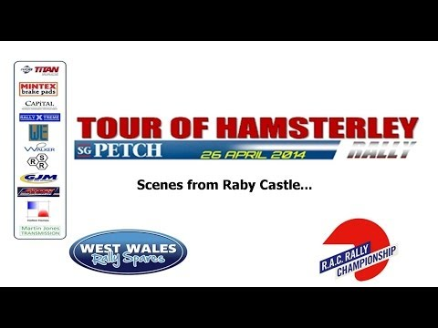 Raby Castle stage on Tour of Hamsterley 2014