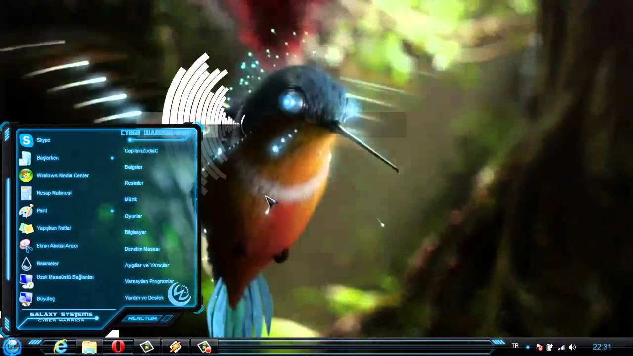 Windows 7 theme cwg 87 dreamscene view youtube for R rating for windows