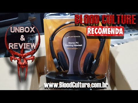 [BC] Headset Plantronics GameCom 1 Unbox + Review 2019 + vs Razer Kraken Essential