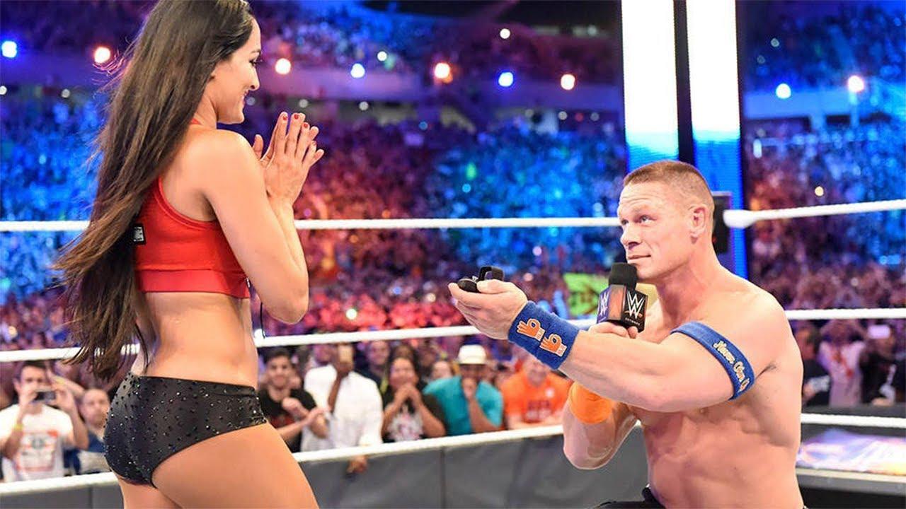 8 PROPUESTAS DE MATRIMONIO OCURRIDAS EN EL RING DE WWE