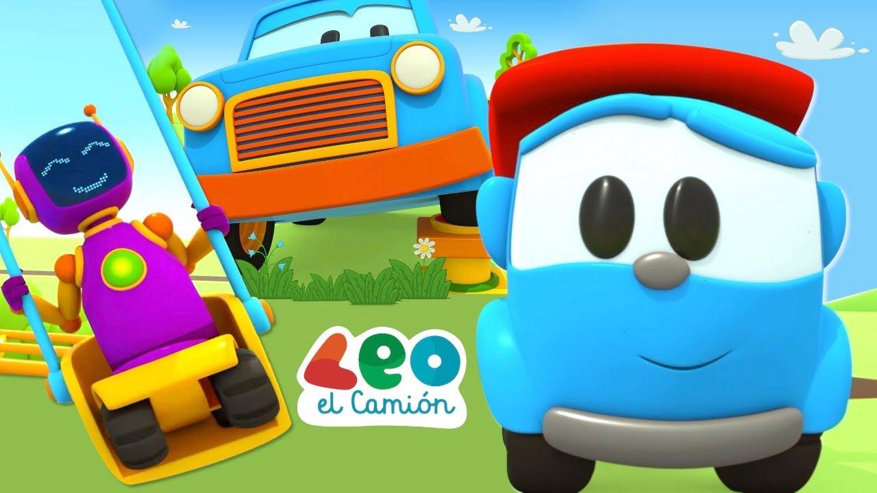 Leo el Camión y Coches Inteligentes - Videos educativos para niños (4 episodios)
