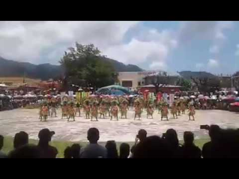 Badajoz Tablas College Tablas Academy Presentation (Biniray Festival 2016 San Agustin,Romblon)