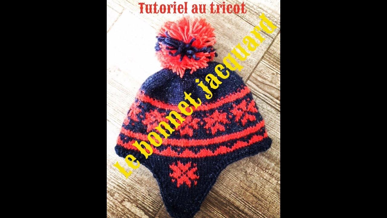 Tutoriel Tricot Bonnet Jacquard Taille 24 Ans 68 Ans 10 Ans