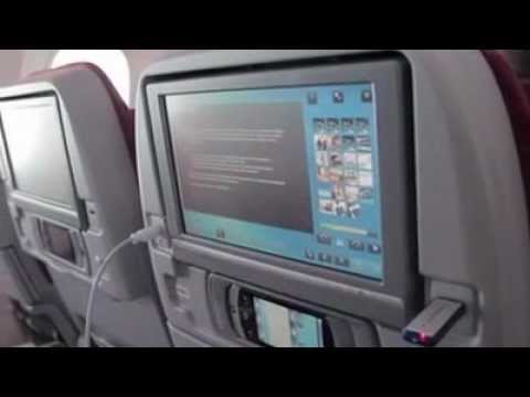 USB or cables on Qatar Airways 787