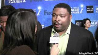 LaVan Davis at 42nd NAACP IMAGE AWARDS NOMINEES
