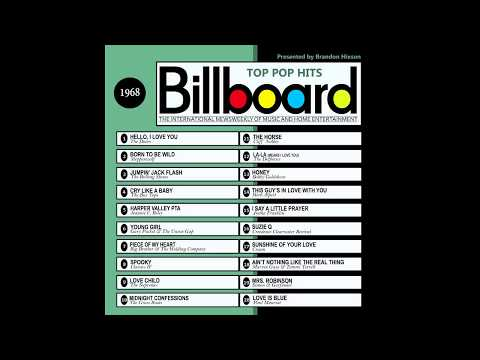 Billboard Top Pop Hits - 1968