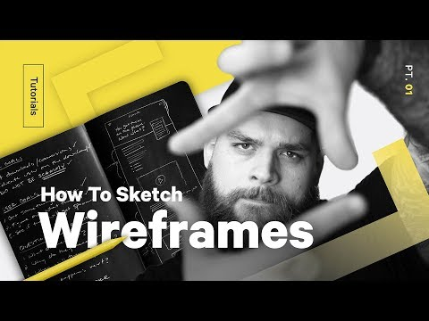 UX Design Process: How To Sketch Wireframes—Web Design Pt 1