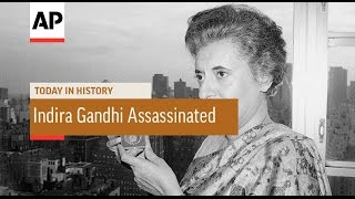 Indira Gandhi Assassinated - 1984 | Today in History | 31 Oct 16