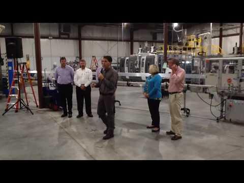 Gov. Walker visits N.E.W. Plastics