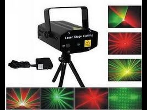 94f06e0ff89 Laser Stage Lighting (Proyector de luces de Navidad) - YouTube