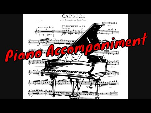 Eugene Bozza - Caprice Op.47  (Backing Track, Play Along, Accompaniment)