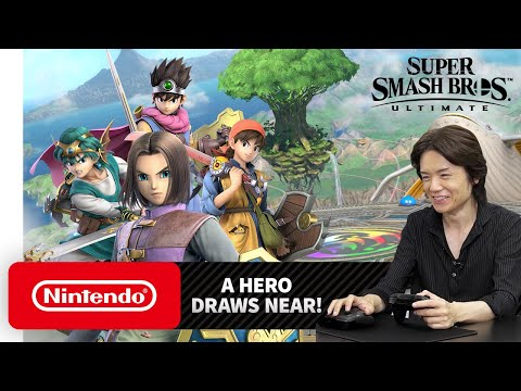 "Super Smash Bros. Ultimate – Mr. Sakurai Presents ""Hero"""
