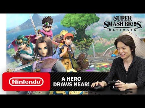 Smash Ultimate's Dragon Quest Hero isn't just another swordsman