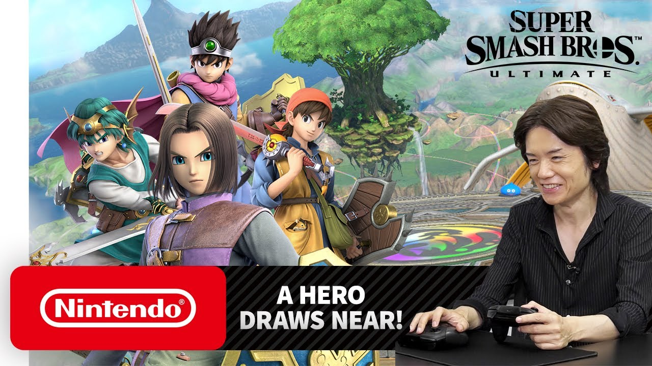 Smash Bros Ultimate DLC: every new character and when you can play