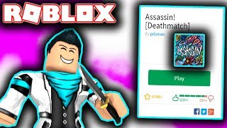 BRAND NEW GAME MODE IN ROBLOX ASSASSIN! (FASTEST WAY TO GET FREE COINS)