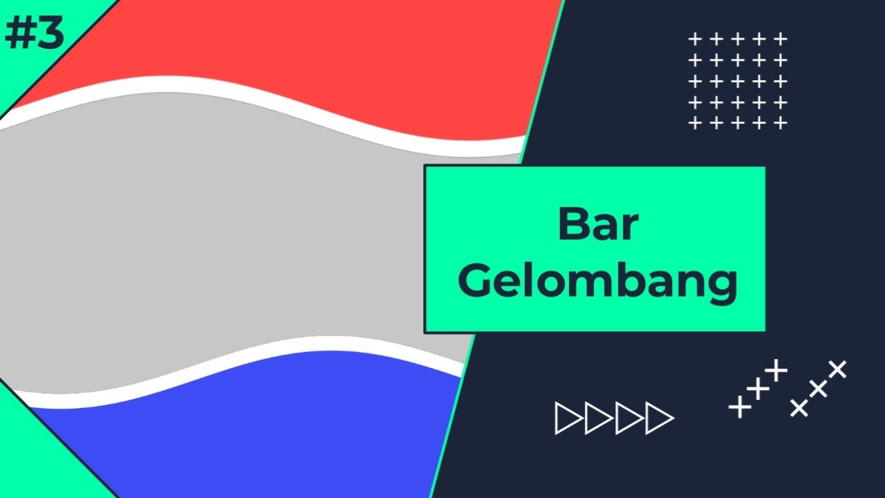 Tutorial Bar Gelombang Colorful/Candy di Alight Motion Eps.3 - Bahasa Indonesia
