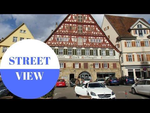 STREET VIEW: Esslingen Am Neckar In GERMANY