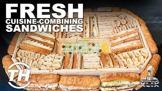 Fresh Super Bowl  Sandwiches | Fresh Cuisine-combining Sandwiches