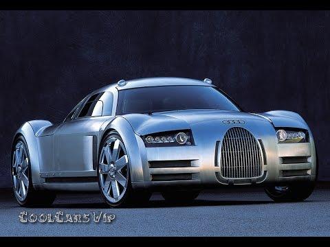 Отличный концепт кар! Audi Rosemeyer Concept