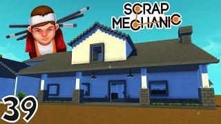 cache cache dans une immense maison   scrap mechanic ep39